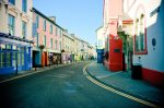 Colorful shops in Skibereen